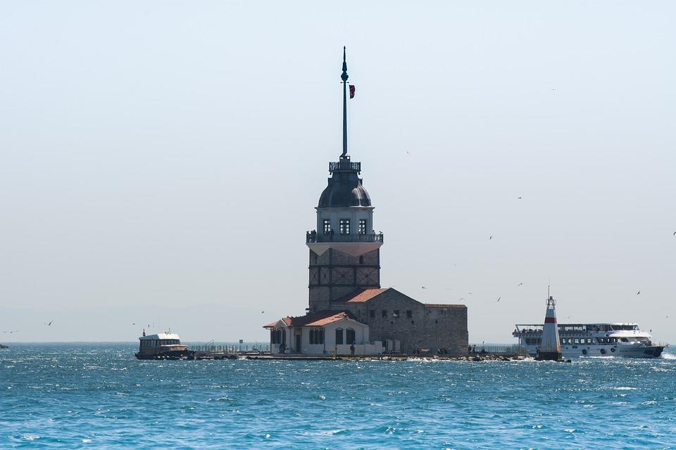 Istanbul, Turkey, Lighthouse, Bosphorus, Landmark