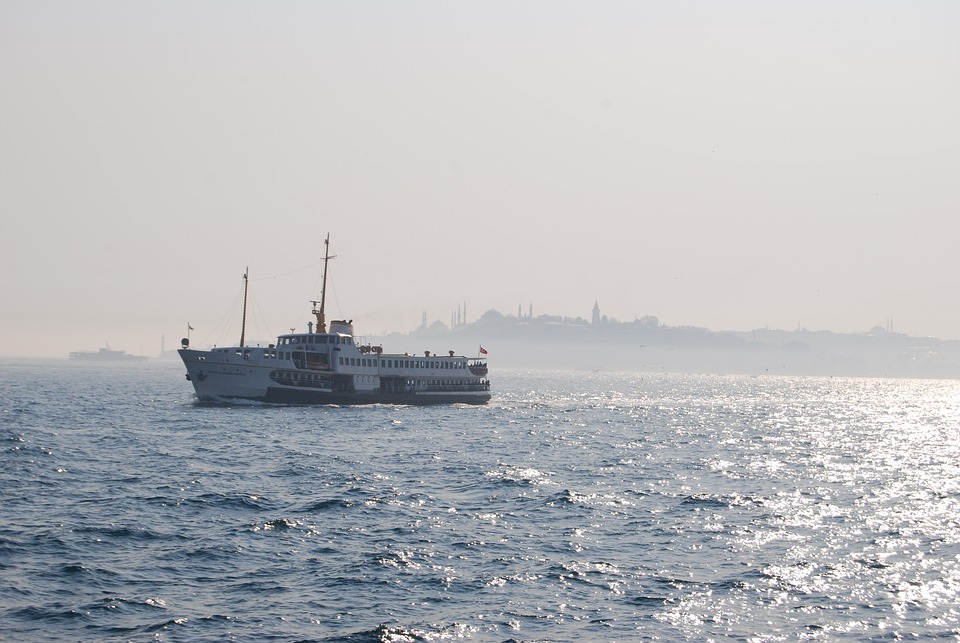 Istanbul, Turkey, Ferry, Bosphorus