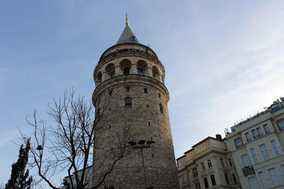 Galata Tower, Galata, Istanbul, Beyoğlu, Turkey, Jewish