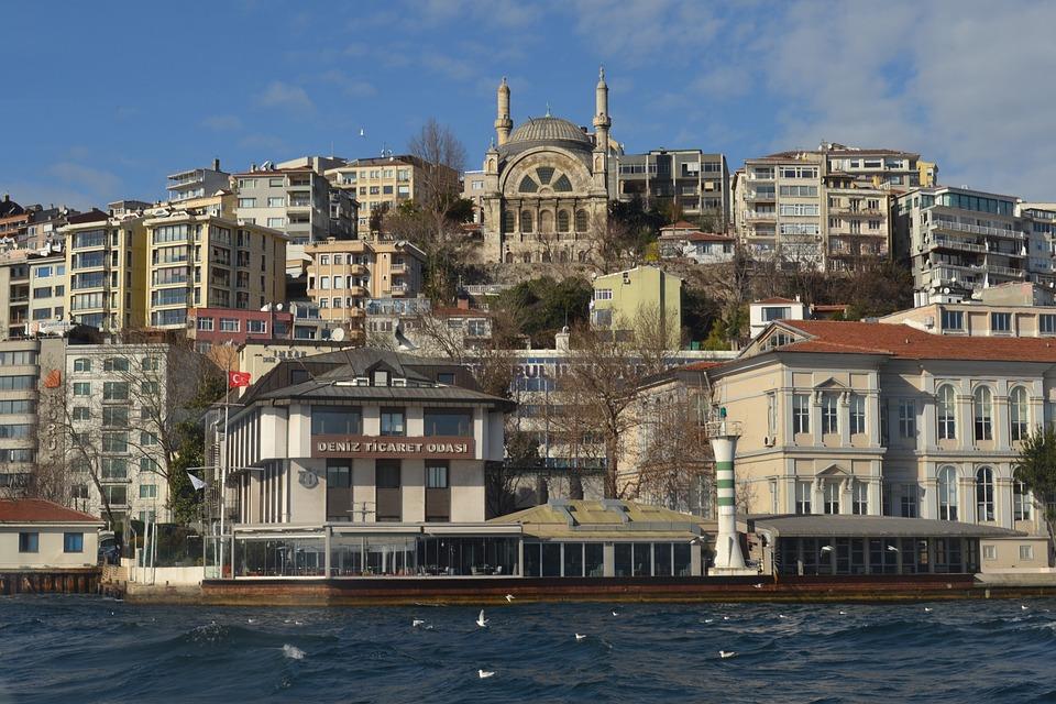 Istanbul, Bosphorus, Strait, Sea, Turkey