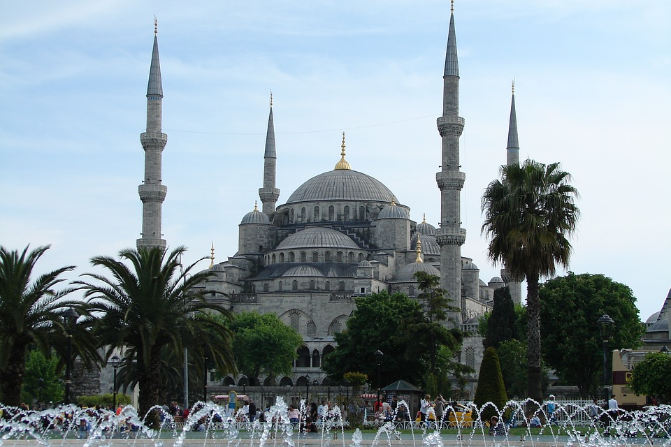 Mosque, Istanbul, Turkey, Blue Mosque