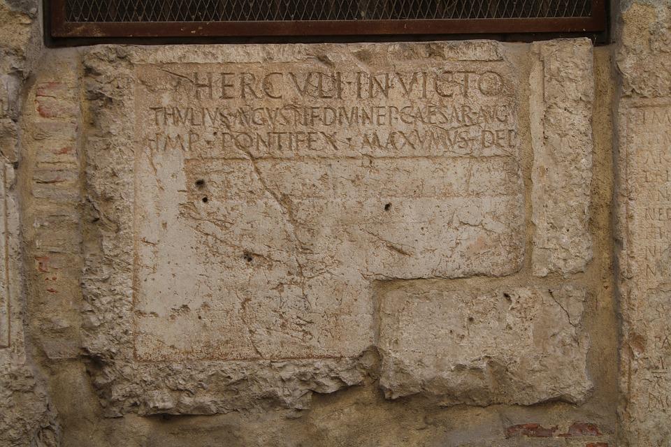 It Headstone, Burial, Tomb, City Hall, Martos, Jaen