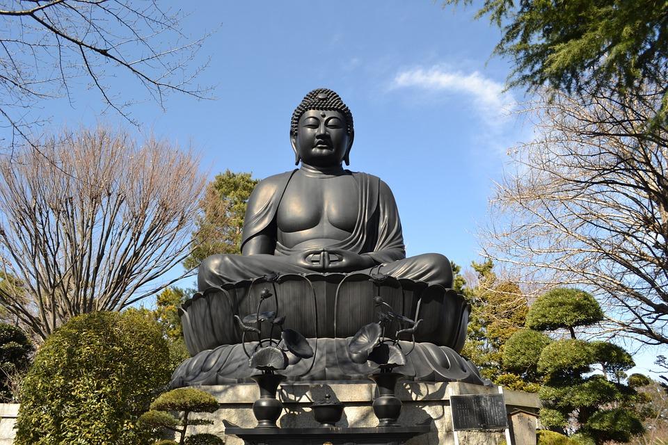 Jorenji Temple, Tokyo Daibutsu, Itabashi, Japan