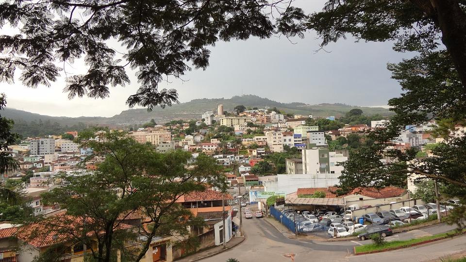 City, Mountain, Itabira, Minas, Brazil
