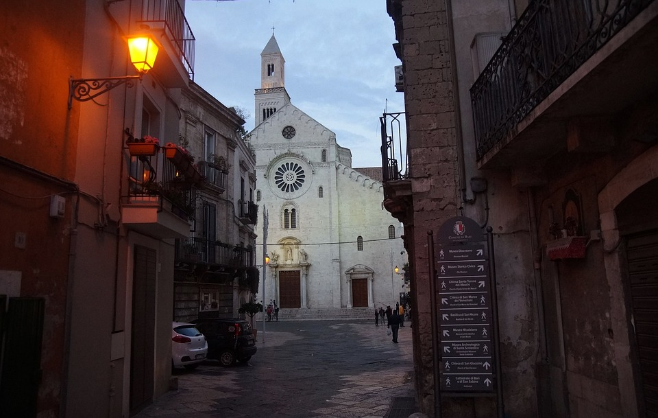 Bari, Apulia, Puglia, Italy, Italia, Architecture
