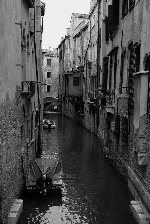 Venice, Italy, Italia, Street