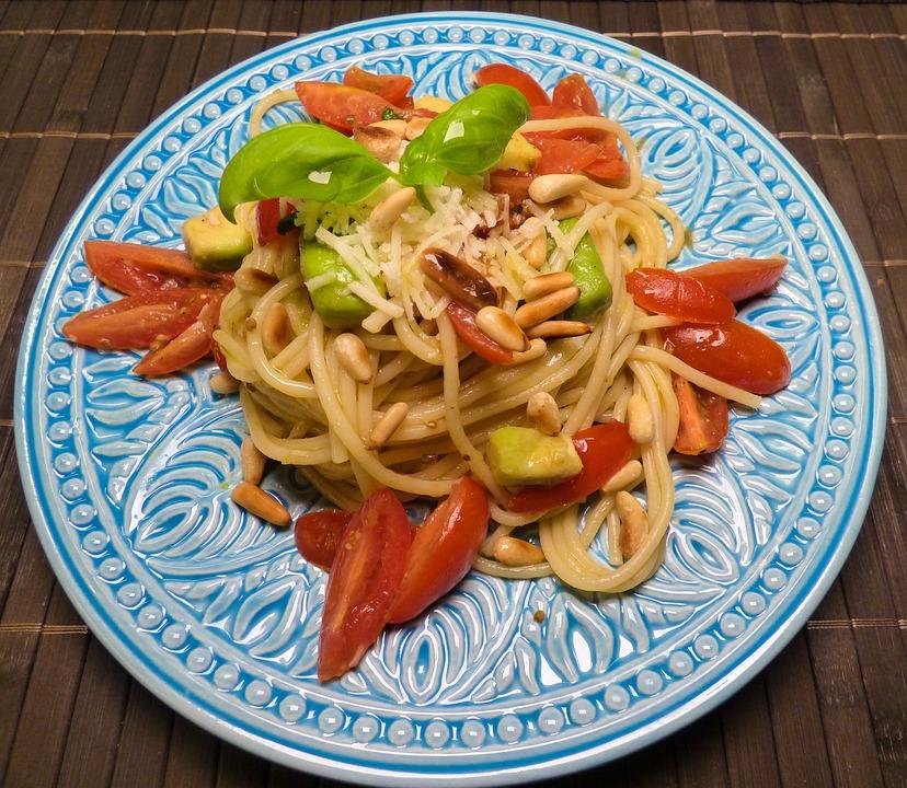 Spaghetti, Noodle, Pasta, Italian, Italy, Avocado