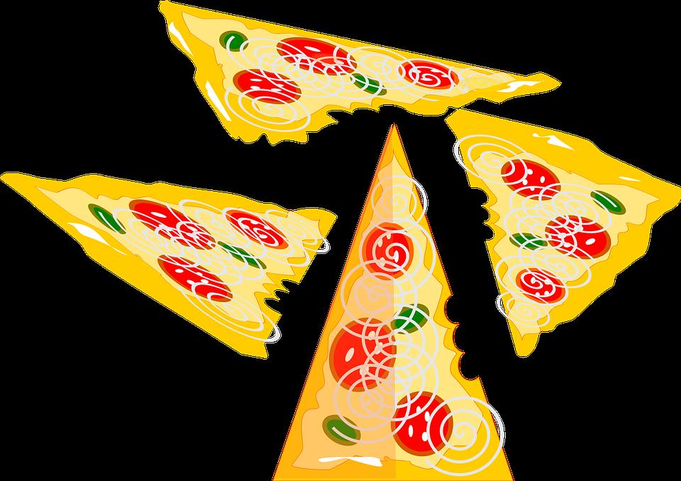 Pizza, Food, Snack, Slices, Delicious, Cuisine, Italian