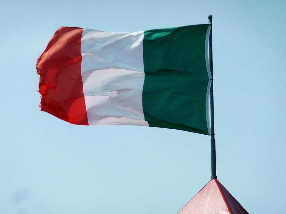 Italy Flag, Flag, Banner, Red, Italian Flag