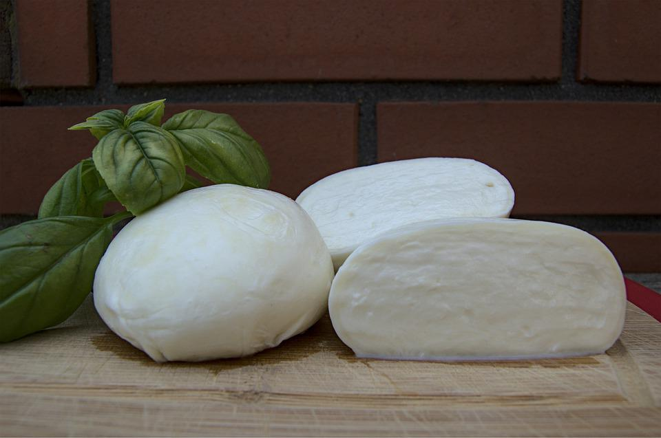 Cheese, Italian, Fresh, Home, Basil