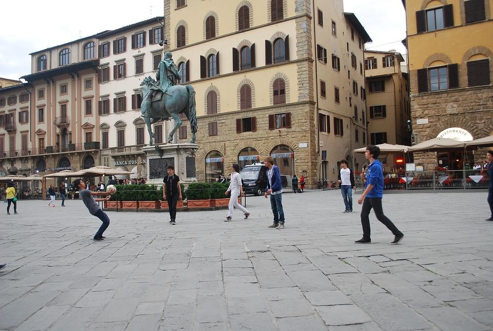 Soccer, Italy, Football, Italian, Play, Urban Sport