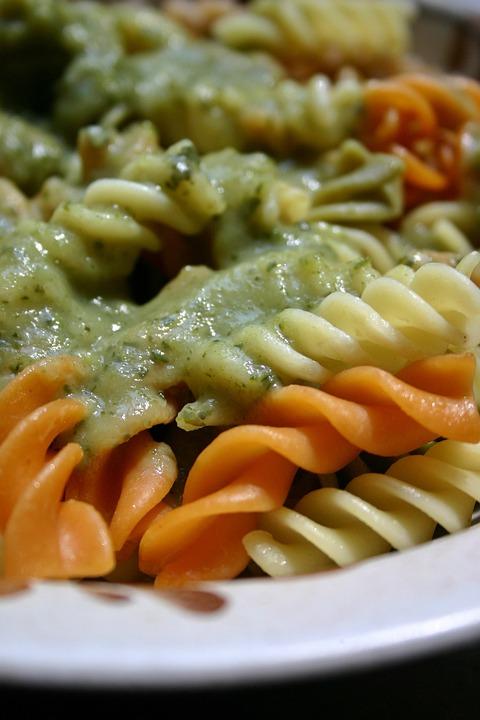 Pasta, Noodles, Vegetables, Vegetable Sauce, Italian