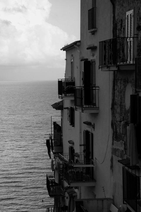 Sea, Italy, The Mediterranean Sea, The Coast, Italian