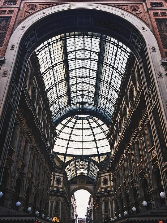 Italie, Milano, Milan, Architecture, Historically