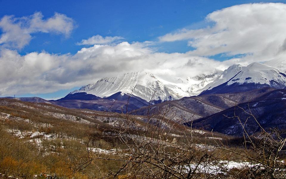 Campotosto, L'aquila, Abruzzo, Italy