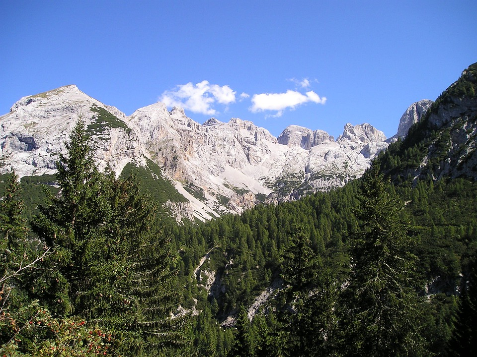 Mountains, Alpine, Brenta, Italy