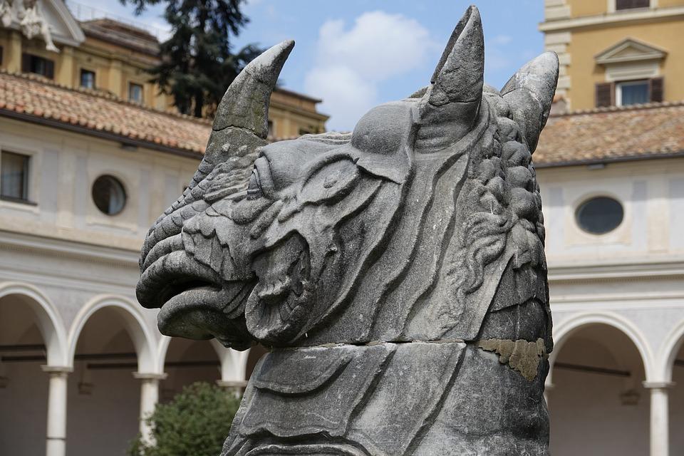 Rome, Italy, Spa, Antiquity