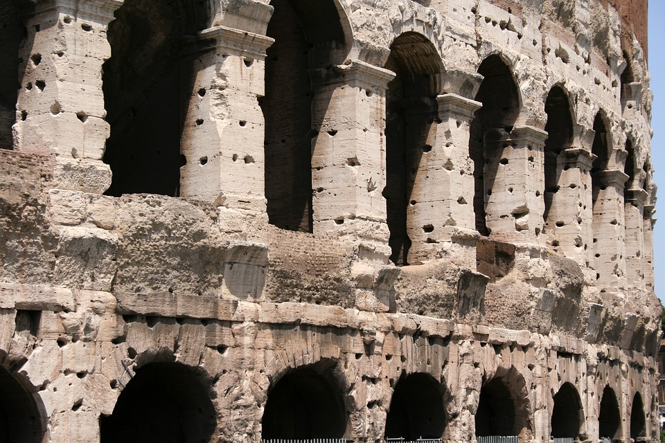 Colosseum, Roman, Italy, Rome, Old, Arena, Buildings