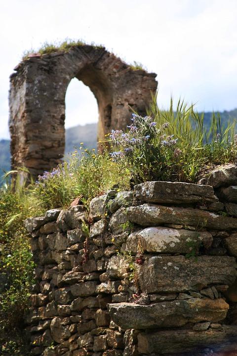Italy, Sardinia, Ballao Church