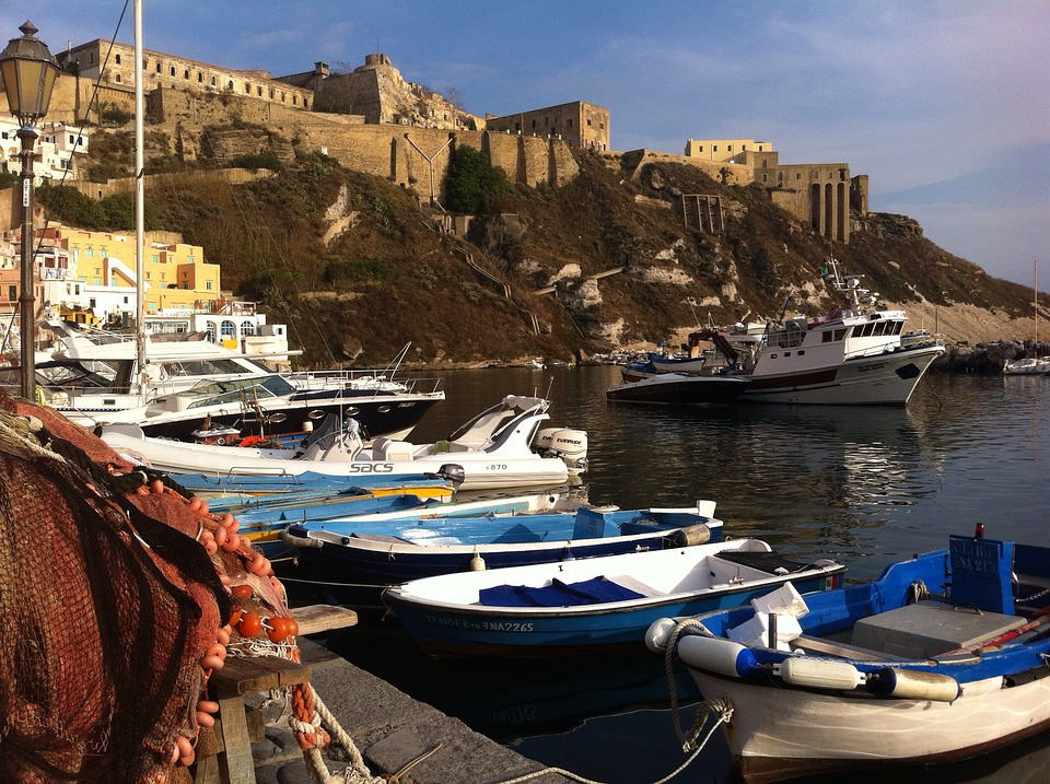 Procida, Networks, Boats, Italy, Island