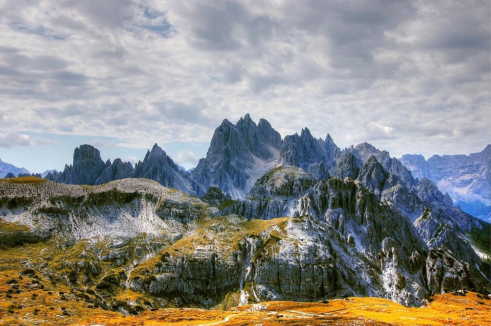 Cadini, Dolomites, Mountains, Italy, Alpine