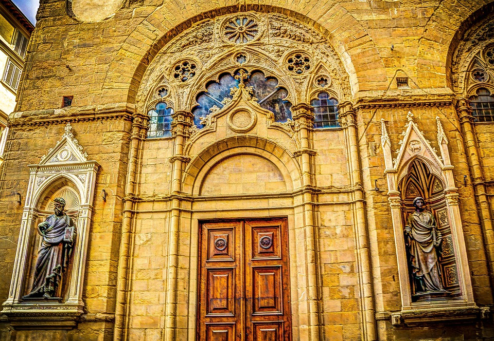 Florence, Italy, Cathedral, Architecture, Church