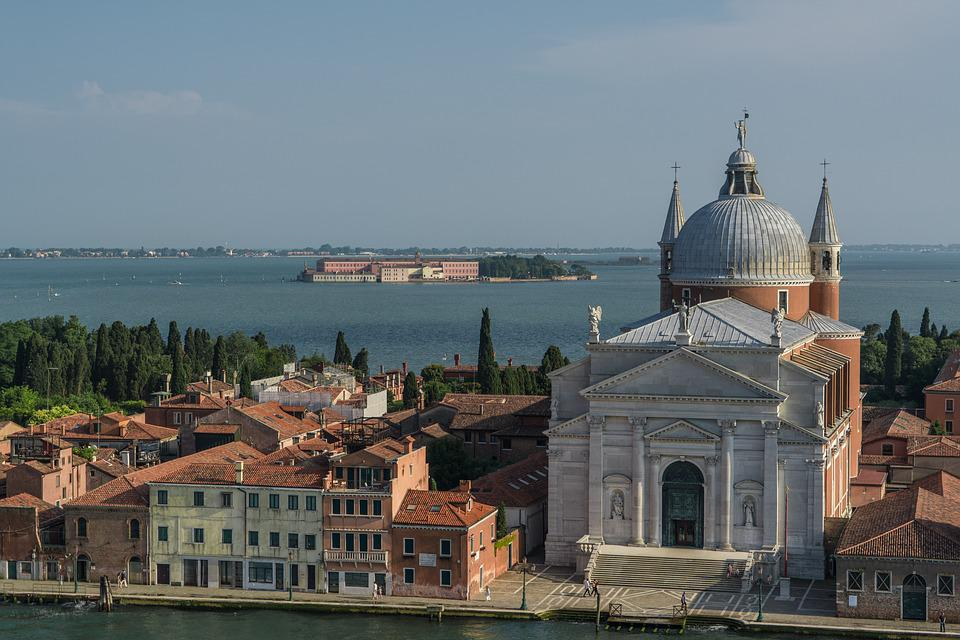 Venice, Italy, Coastline, Canal, Europe, Water, Travel