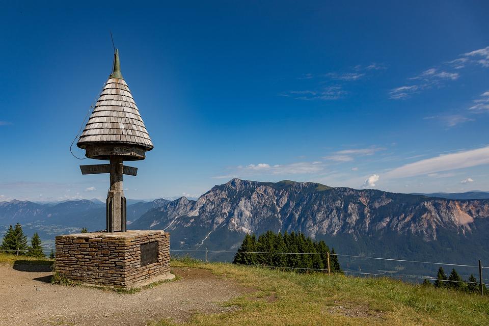 Dreiländereck, Italy, Slovenia, Austria, Europe