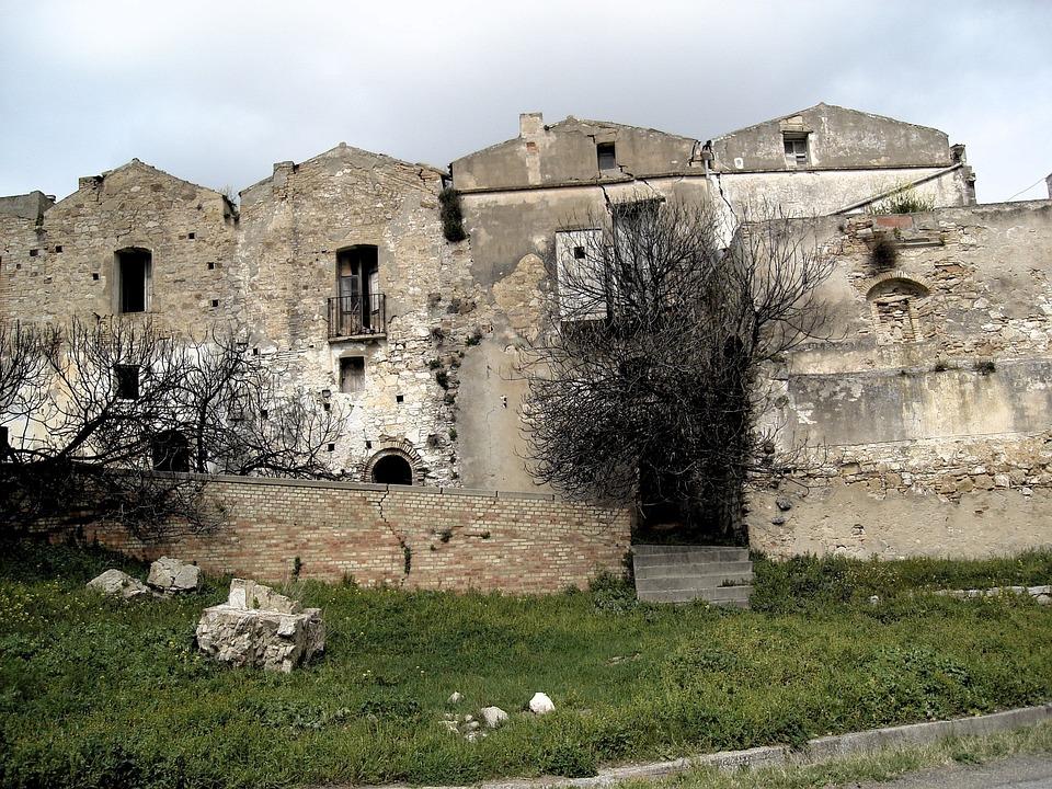 Craco, Homeless, Earthquake, Italy, Abandoned Village