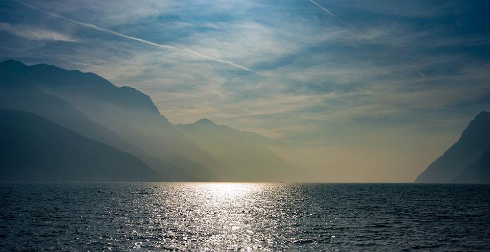 Lake, Garda, Water, Italy, Holiday, Nature, Mountains