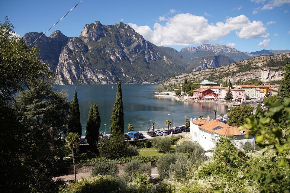 Garda, Lake, Mountains, Italy