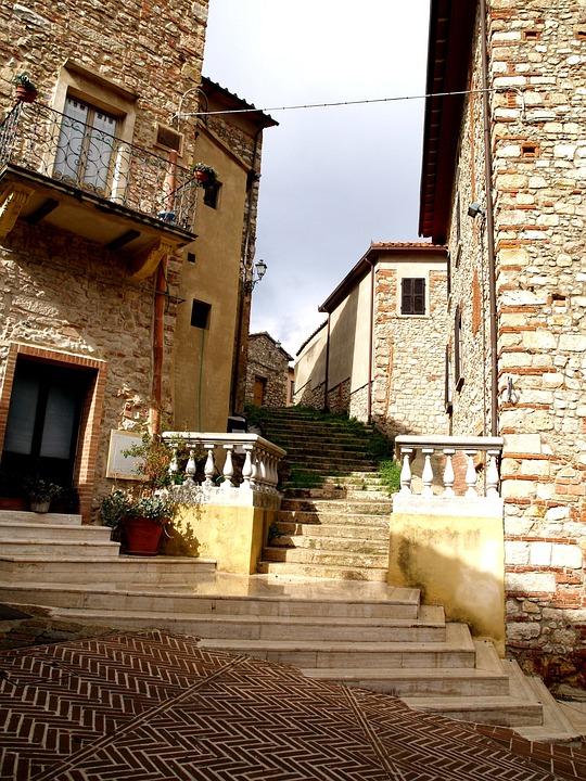Italy, Streets, Village, Holidays