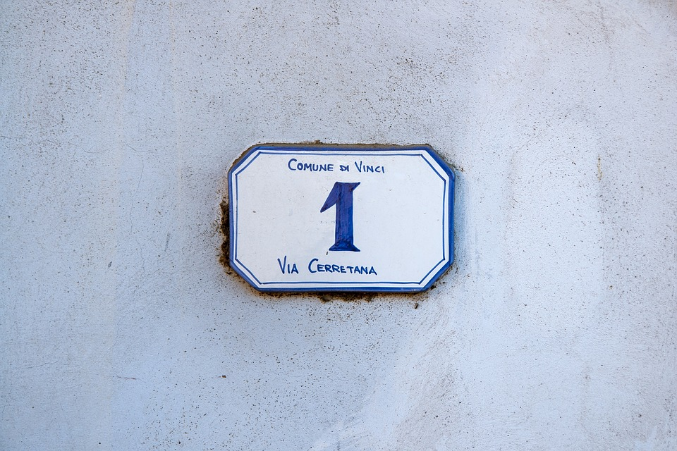 House Number 1, House, Number, 1, Italy, Wall, Street