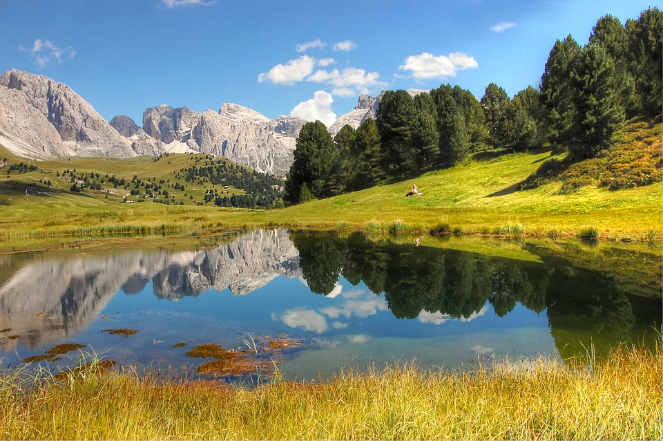 Bergsee, Dolomites, Nature, Italy, Landscape, Mountains