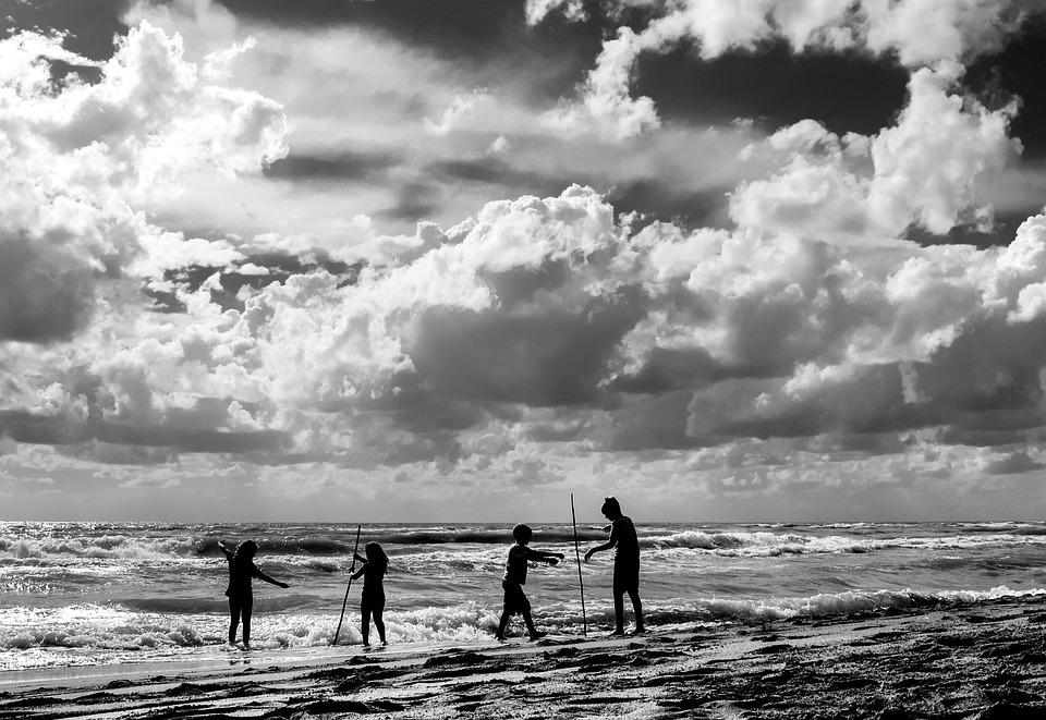 Lido Di Ostia, Ostia, Rome, Lazio, Italy, Sea, Beach