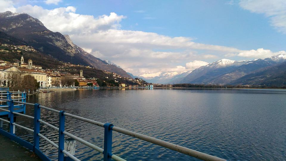 Lake, Iseo, Water, Italy, Landscape, Nature, Lombardy