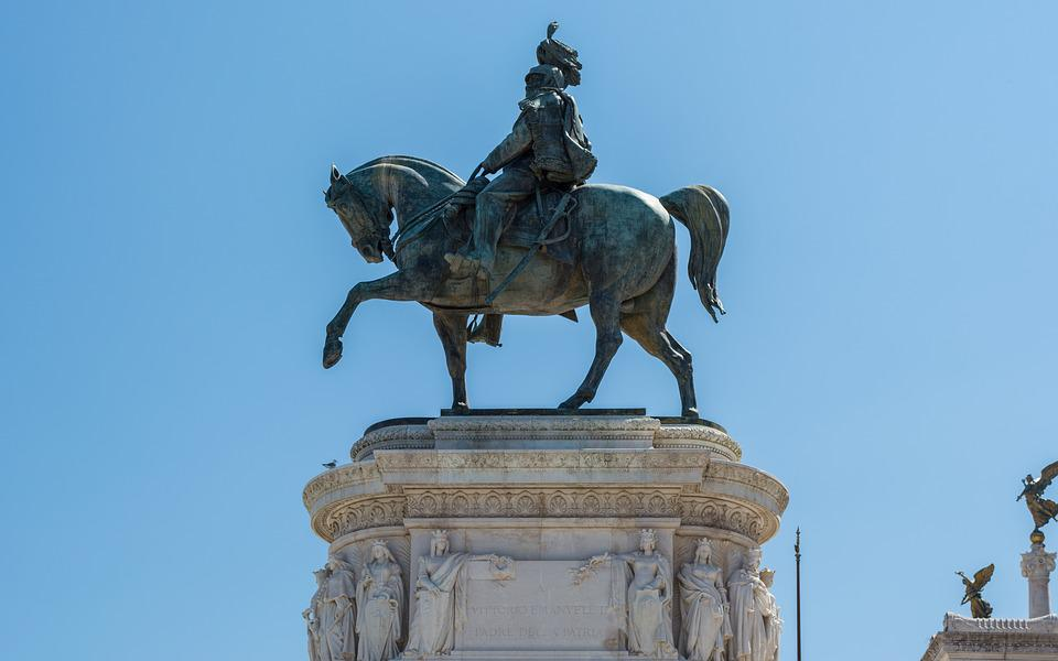 Italy, Rome, Monument To Vittorio Emanuele Ii