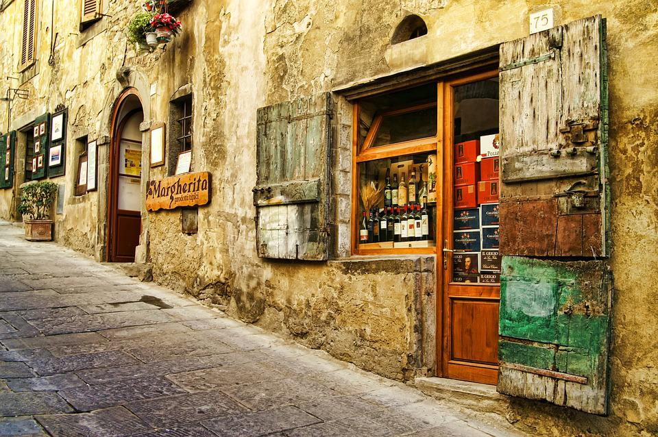 Italy, Tuscany, Old Houses, Antique, Impressions