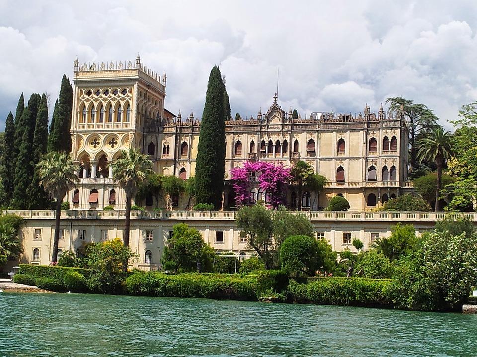 Isola Di Garda, Castle, Old, Italy, Summer, Lake Garda