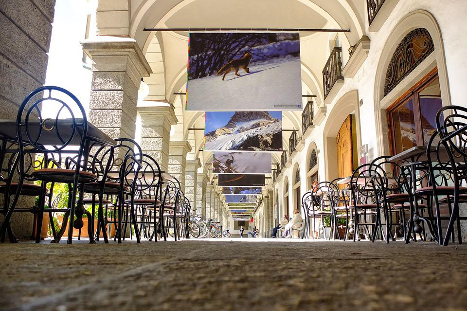 Italy, Val D'aosta, Photo, Exhibition, Vacation