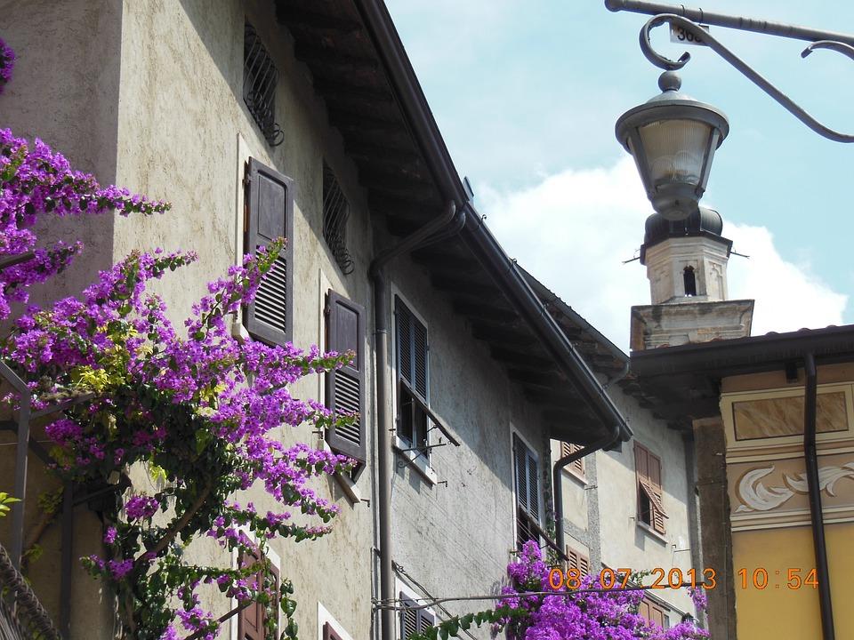Limone, Garda, Italy, Blossom, Bloom, Summer, Port City