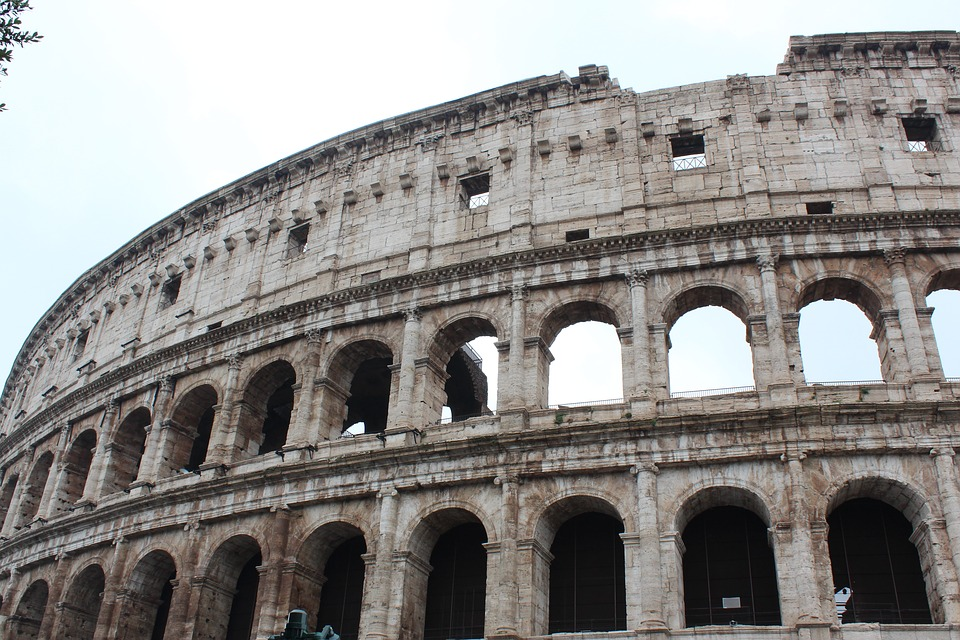 Italy, Roma, The Colosseum