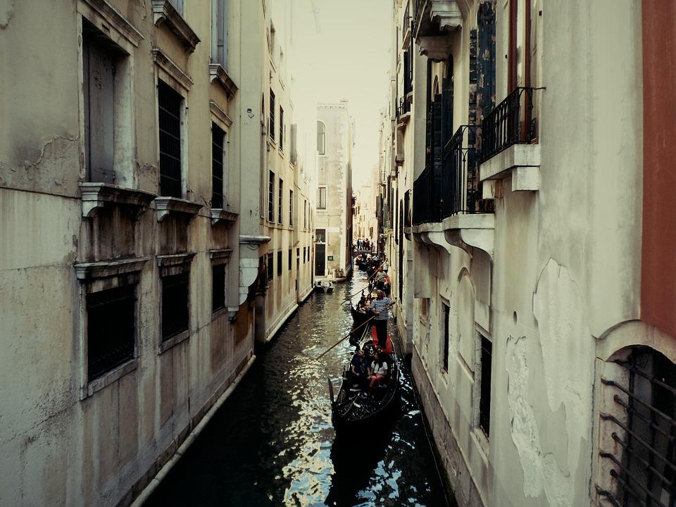 Venice, Channel, Italy, Venezia, Homes, Water, Romantic