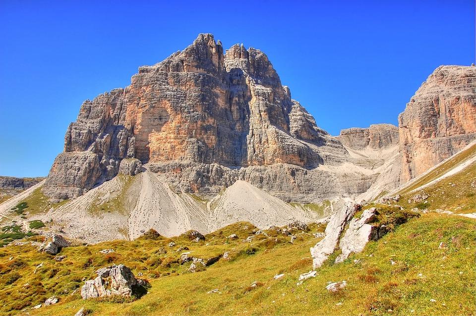 Sesto, Dolomites, Sexten Dolomites, Italy, Mountains