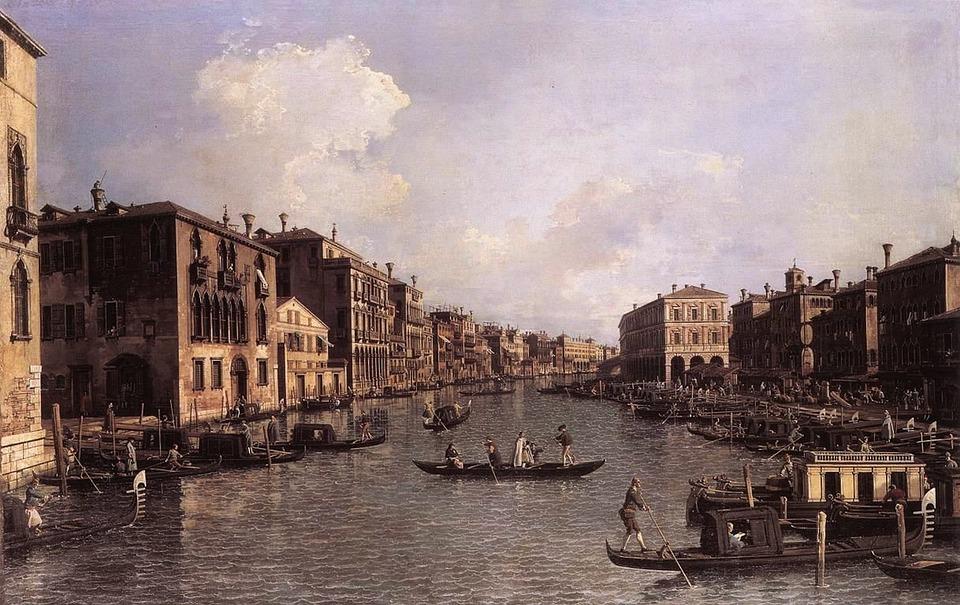 Giovanni Canal, Venice, Italy, Canal, Buildings, Sky