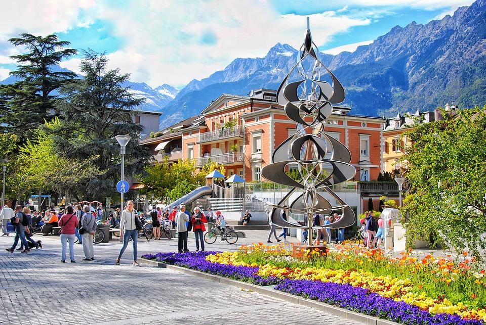 Meran, South Tyrol, Walk, Italy, Vacations, Mountains