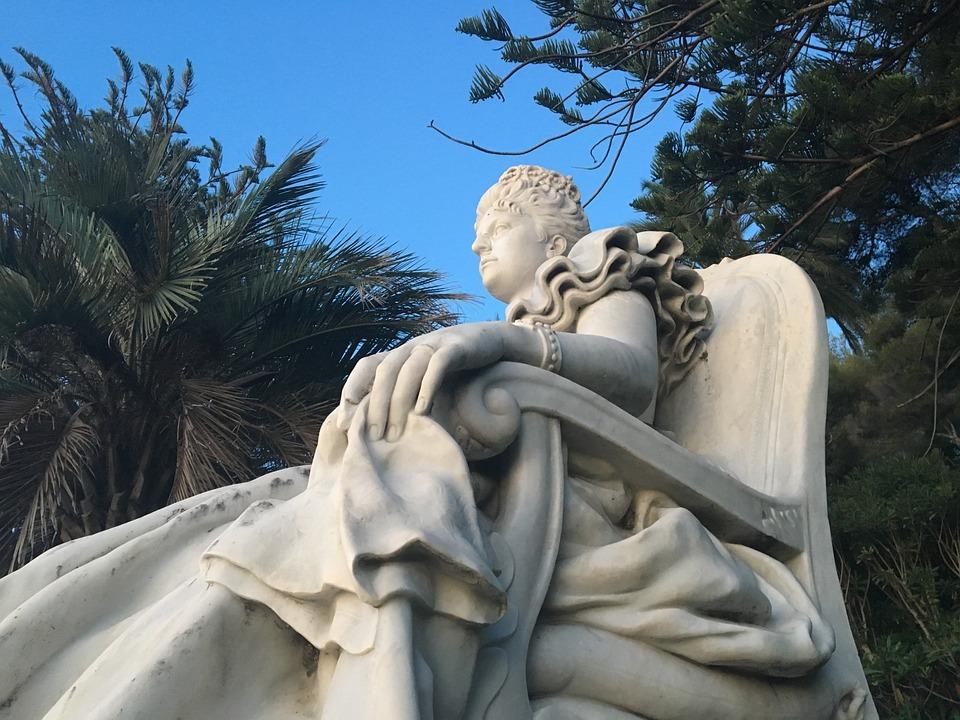 Statue, Queen, Italy