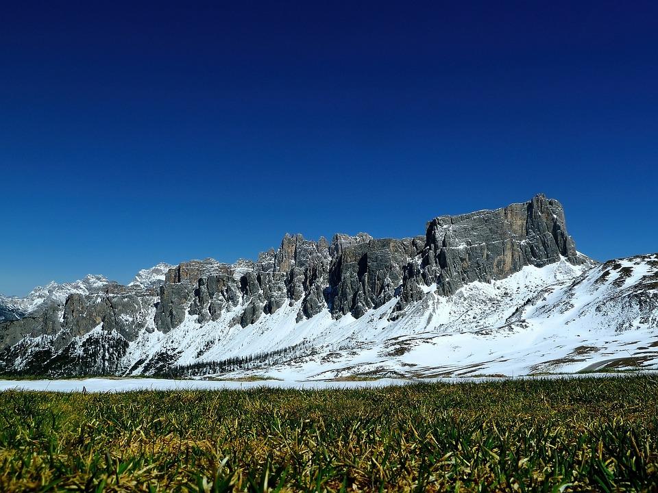 Italy, Dolomites, Summer, Sun, Mountain