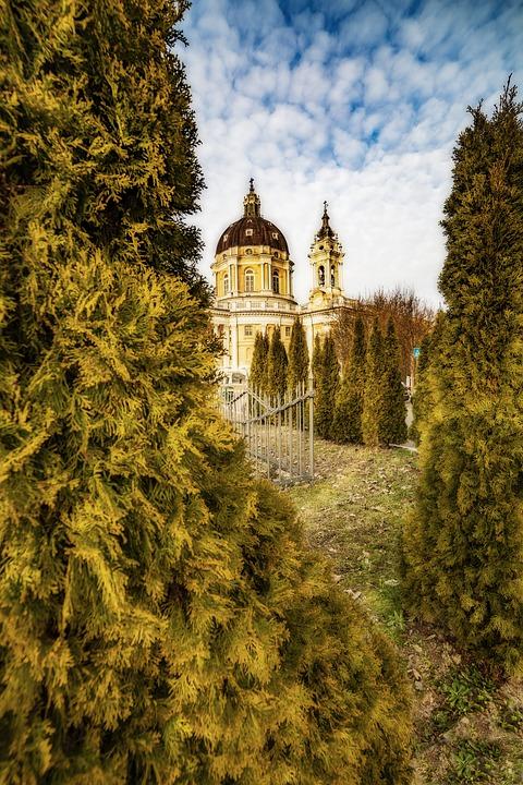 Superga, Torino, Italy, Turin, Piemonte, Landscape