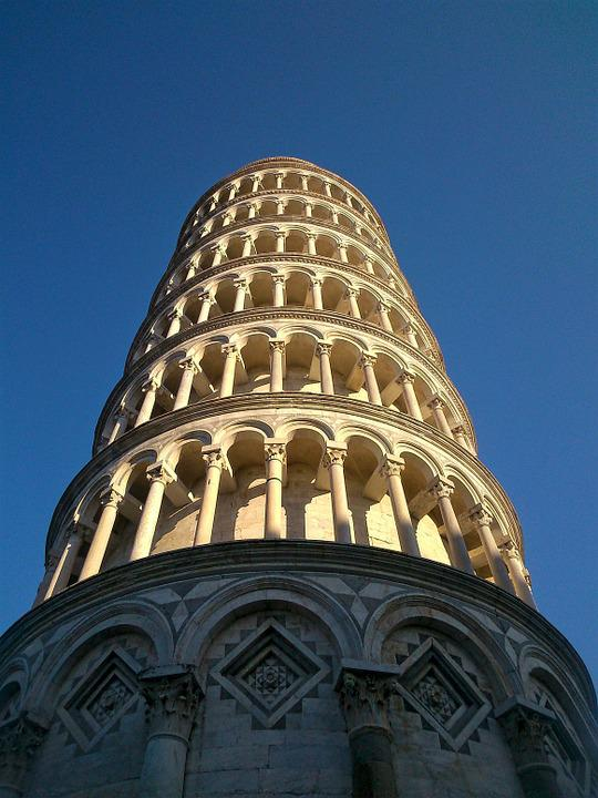 The Leaning Tower, Pisa, Tuscany, Italy, Famous